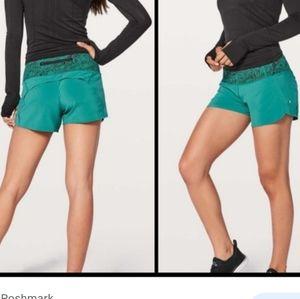 Lululemon run times shorts II